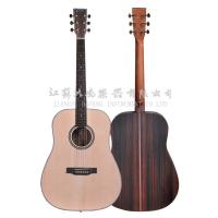 Musical rument China manufacture 38 inches Wooden Acoustic Guitar in high quality
