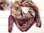 2011 bufandas cuadradas grandes de seda reales populares del mejor el 100% del nuevo estilo