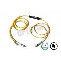 Single Mode Fiber Coupler 2X2 LC Fbt Coupler Φ2 Yellow 1m Package C