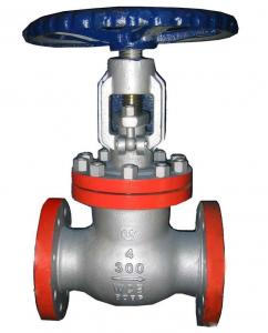 China 125lb FF/RF flange end cast iron gate valve on sale