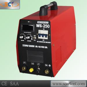 China Three phase 380 or 220v output 250A inverter IGBT tig welding WS-250 on sale