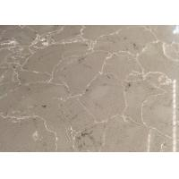 China QS515 Artificial Marble Veins  Quartz Stone for Countertops Vanity on sale