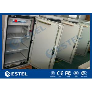 China Anti-Theft Three Point Lock BTS Outdoor Telecom Cabinet Low Power Consumption, Outdoor Power Enclosure on sale