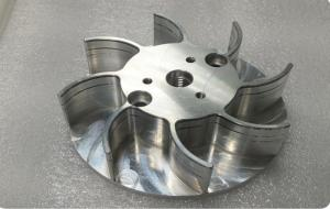 China New Product Fan For Engine Precision CNC Machining Metal Parts on sale