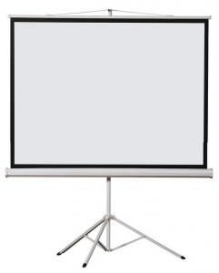 "China SLJ hot sale 48""-300"" Tripod projection screen/tripod projector screen on sale"