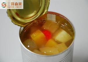 China No Artificial Colors Mixed Canned Fruit 425g / 820g / 3000g In Normal Temperature on sale