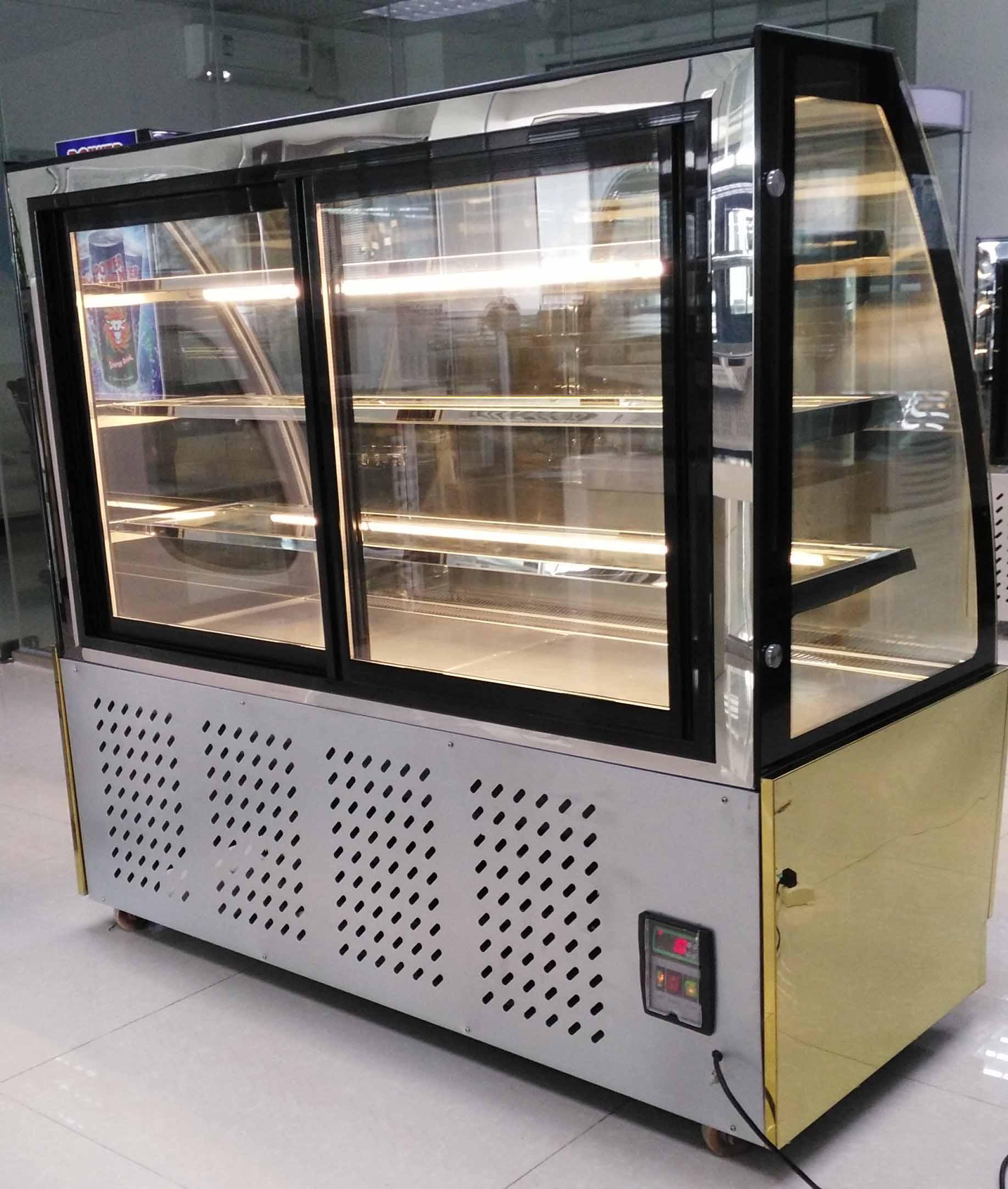 door refrigerator cu turbo n air equipment tgf glass freezer merchandising countertop ft display