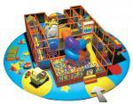 子供の振動球およびスライドA-09303が付いている屋内運動場装置
