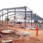 Low Cost Construction Design Steel Workshop In Algeria