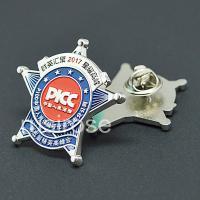 Custom Imitation badge,Personalized metal pin,production of Fluorescent badge,metal brooch collar pin, custom made Epoxy