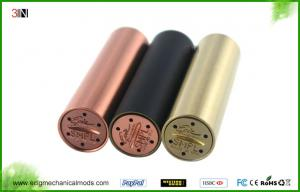 China Copper High End Mechanical Mod No Top Cap Simple 18650 Battery E-Cigarette on sale