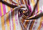 Roxo tecido de Organza da parte alta da tela dos vestidos jacquard listrado