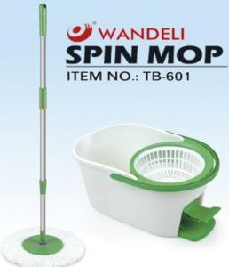 China One Touch Steam Tornado Floor spin mop With 7.6L Bucket , Whit pedal on sale