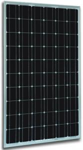 China 255W Mono-crystalline Solar Panel made of 6 inch solar cell on sale