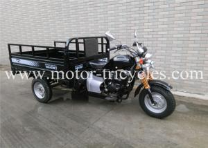 China Air Cooling Engine Three Wheel Cargo Motorcycle , Heavy Duty Tricycle 2130mm Wheel Base on sale