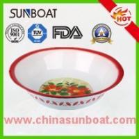 China chinese traditional cast iron customized color enamel wedding basin on sale