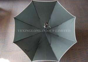 China Customised Logo Dark Green Windproof Golf Umbrella As Promotional Items on sale