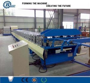 China High Speed Steel Roof Panel Roll Forming Machine With Hydraulic Station on sale