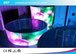 El alquiler video llevado flexible p7.62 de la cortina del alto brillo llevó el módulo de la pantalla