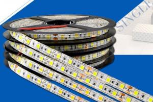 China 60led / m	5050smd	5m	Led Strip Lights	3year	Warranty	High Bright	Ra80	Waterproof on sale
