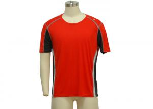 China 100% Polyester Sports Polo T Shirts For Men , Custom Printed Polo T Shirts on sale