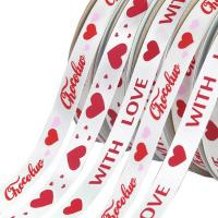 China Recycled Decorative Satin Ribbon Solid Color Patterned With Smooth Surface on sale