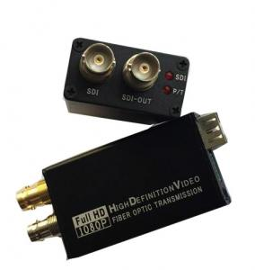 China Mini Type 3G-SDI to Fiber Optic Converter , Full HD Sdi Video Converter 1080P on sale