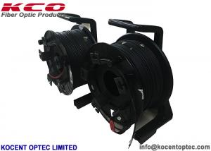 China UV Resistant Fiber Optic Patch Cord Cable Drum Reel CPRI Armored TPU SC LC MPO on sale