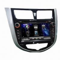 7-inch HD TFT GPS Car Navigation System for Hyundai Verna, RDS/GPS/Bluetooth/3G/TMC/TV/Phonebook