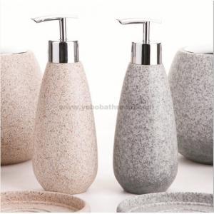 China distributeur d'ensemble-savon de salle de bains de résine on sale