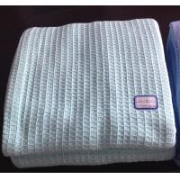 China 100% Cotton Waffle Thermal Blankets,Hospital Waffle Blankets,Leno Blankets,Cellular Blanke on sale