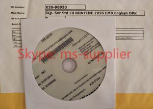 China Original Professionals Microsoft Windows SQL Server 2016 Enterprise 15CAL on sale