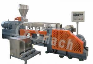 China Polyethylene Extruder Machine With Delta Inverter , Plastic Granules Making Machine on sale
