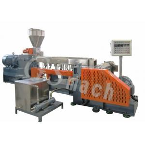 China Polyethylene Extruder Machine With Delta Inverter , Plastic Granules Making Machine  on sale
