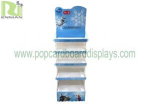 China Floor Wollow Plate Corrugated Plastic Pop Display Stand For Baby Products Toys on sale