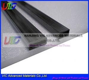 China Large Rectangular 3k Carbon Fiber Tube for Medical use on sale