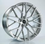 21 Inch Deep Concave Monoblock Forged BMW X5 Wheels Stain Brushed Finish