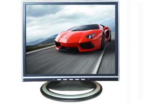 China Desktop Car TFT 14 LCD Monitor VGA RoHS With Wall Brackets on sale
