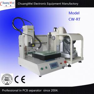China Bench Top Automatic PCB Router With Customize Robust Frame And Vaccum Cleaner on sale