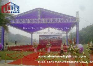 China Dj Lighting Portable Mobile Truss System 5 Years Warranty For Outdoor Concert on sale