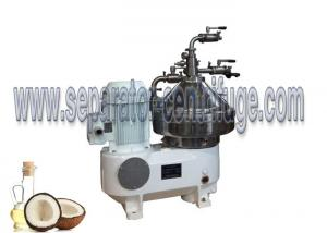 China Belt Drive Continuous Disc Stack Centrifuges Machine For Virgin Coconut Oil on sale