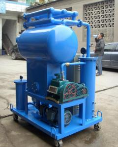 China ZJB Single Satge Electric Oil purifier, Transformer Oil Reclaimation Equipment on sale