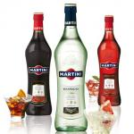 Cocktail - Martini Bianco caisse de bouteille de X12 de 1,0 litres