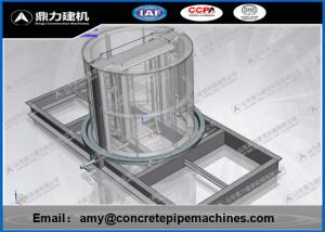 China Less Water Consumption Concrete Manhole Forms 12 Months Warranty on sale
