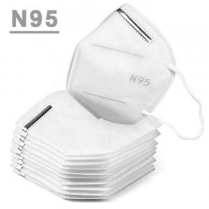 China High Filtration Breathable N95 Face Mask With CE Certification Anti Dust on sale