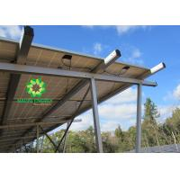 Concrete Base Ground Solar Racking Systems for Solar PV Panels Modules