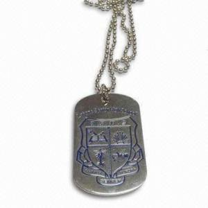 China Metal Dog tags & Custom Hang Tags with Aluminum sheet for Souvenir gifts on sale