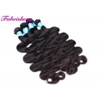 China Unprocessed Brazilian Virgin Body Wave Hair Weft Non-Chemical 100% Human Hair Extension on sale
