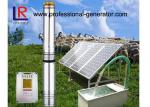 120 - 170w DC 48V Agricultural Solar Water Pump With Stainless Steel Material