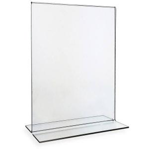 China acrylic table tent menu holders on sale